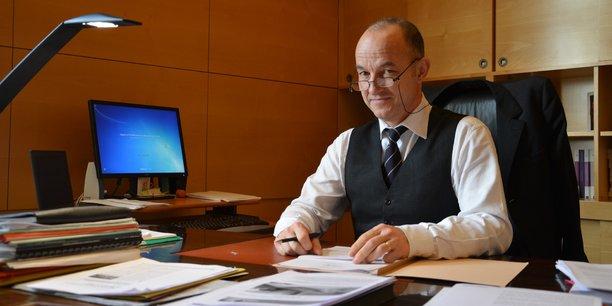 Jean-François Monteils, président de la CRC de Nouvelle-Aquitaine