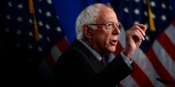 Sanders creuse l'ecart, bloomberg recule[reuters.com]