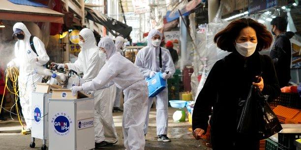 Coronavirus: seoul fait etat de 169 nouveaux cas dont un soldat us[reuters.com]