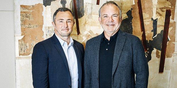 Le directeur général de Nexity Jean-Philippe Ruggieri et son président Alain Dinin