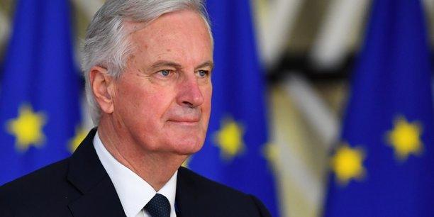 « Nous ne mettons pas la pression. C'est le gouvernement britannique qui met la pression du temps sur ces négociations », a déclaré Michel Barnier auprès de journalistes.
