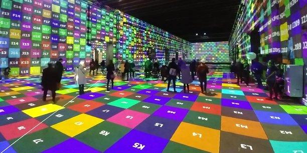 Culturespaces doit réaliser les derniers réglages des projections et de la musique avant l'ouverture au public prévue le 17 avril 2020.