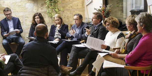 Les têtes de listes écologistes à Bordeaux Métropole ce jeudi 27 février au QG de Bordeaux Respire!
