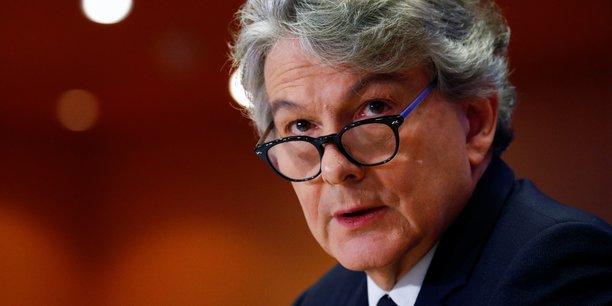 Thierry Breton, commissaire européen au marché intérieur, a indiqué que son institution «ferait pression pour que [la taxe] soit imposée aussi vite que possible».