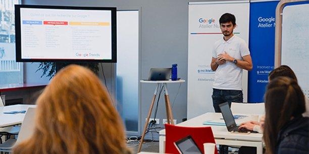 L'Atelier numérique Google a ouvert à Montpellier il y a un an, en février 2019.