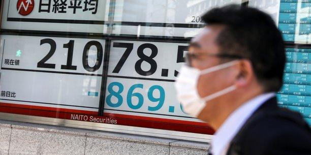 La bourse de tokyo termine en forte baisse[reuters.com]