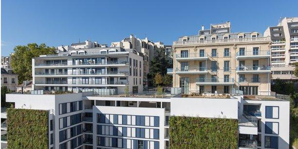 76 logements réalisés à Saint-Cloud par Interconstruction