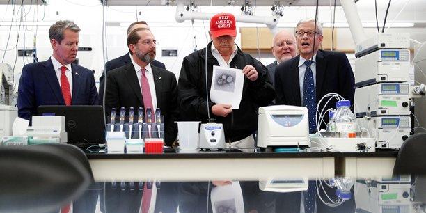 Accusé d'avoir déformé la réalité de l'épidémie, Donald Trump a accusé les médias de désinformation d'essayer de présenter son gouvernement sous un mauvais jour.