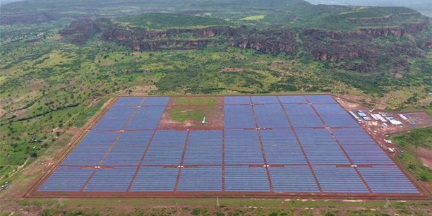La centrale solaire de Kita au Mali.