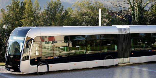 Le Febus, exemple d'un bus fonctionnant à l'hydrogène à Pau.
