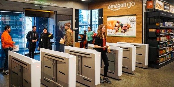 Le leader mondial du e-commerce revendique 25 supermarchés sans caisse Amazon Go aux États-Unis.