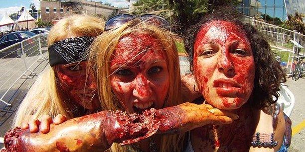Zombie Walk à Cannes, 2013. Les zombies consistent en des objets «complexes»..Olivier06400/Wikimedia,CC BY