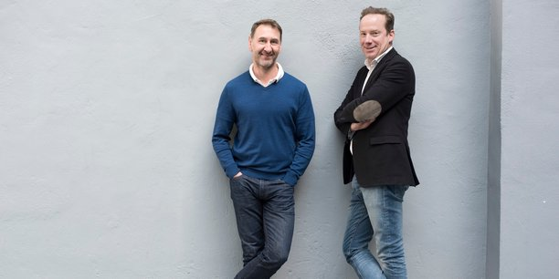 Philippe Baranski et Aymeric Méhu, les deux fondateurs de MySofie.