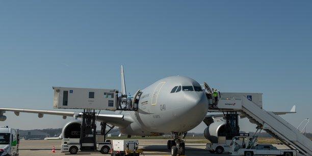 L'A330 MRTT Phénix est équipé du module Morphée, qui permet l'évacuation de blessés de guerre nécessitant une réanimation