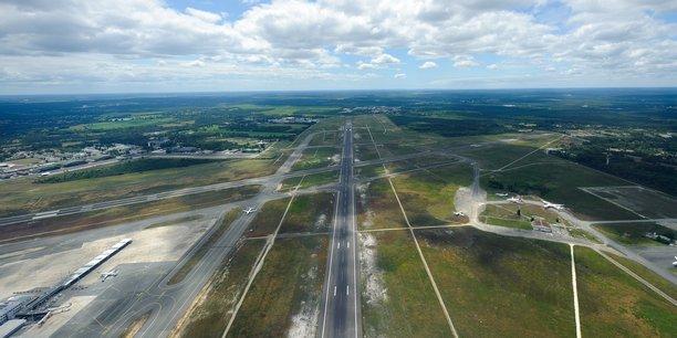L'aéroport de Bordeaux Mérignac enregistre une baisse de trafic de -70 % depuis le début de semaine.