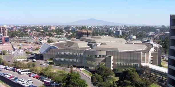 Siège de la Commission économique pour l'Afrique des Nations unies (CEA) à Addis Abeba.
