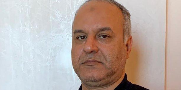 Ali Issaoui, ministre libyen de l'Economie et de l'industrie.