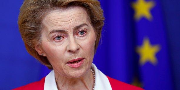 La présidente de la Commission européenne, Ursula von der Leyen, a annoncé vendredi la suspension des règles de discipline budgétaire de l'UE.