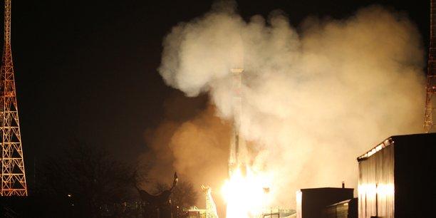 Lancement de 34 satellites OneWeb à Baïkonour le 21 mars dernier