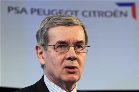 Philippe Varin préside PSA depuis trois ans Copyright Reuters