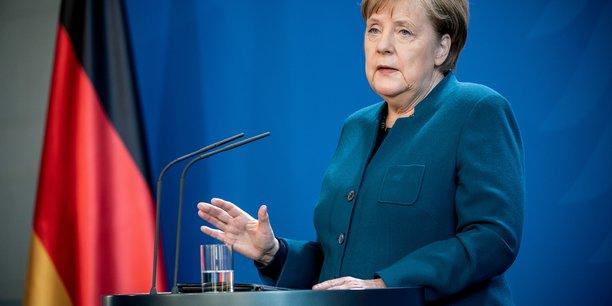 Coronavirus: merkel remercie les allemands pour leur discipline[reuters.com]