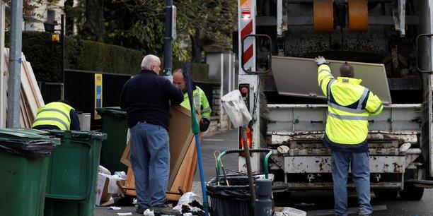 Moins d'ordures a paris[reuters.com]