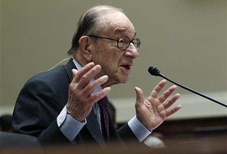 Alan Greenspan, ancien président de la Fed Copyright Reuters