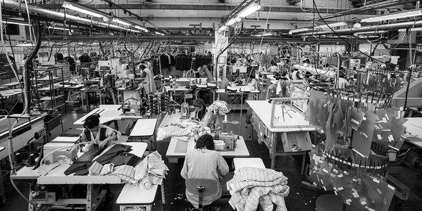 L'usine de Limoges sous le nom France Confection avant sa liquidation judiciaire le 18 mars 2020.