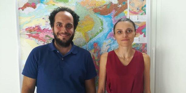 Quentin Barral et Alice Chougnet, fondateurs de Geosophy.