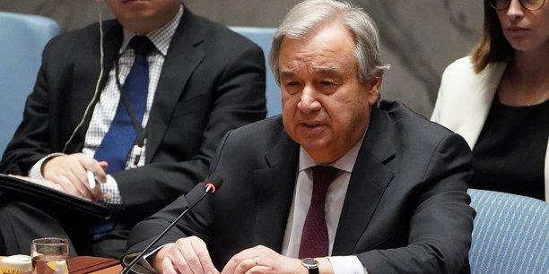 Guterres appelle a agir face a l'horrible flambee de violence domestique[reuters.com]