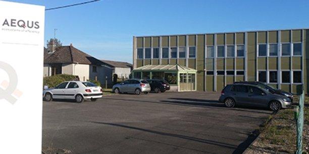 Aequs Aerospace France a trois sites en France (Aubigny, Besançon et Cholet)