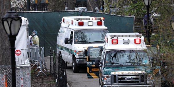 Coronavirus: forte baisse des admissions dans les hopitaux de l'etat de new york[reuters.com]