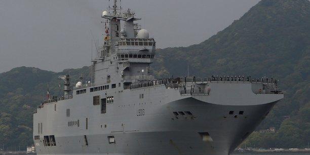 Le porte-helicopteres mistral arrive a la reunion pour ravitailler mayotte[reuters.com]