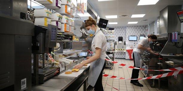 McDonald's reste discret sur le niveau de recettes résiduelles effectuées dans les 12 restaurants de la région Centre Val de Loire.