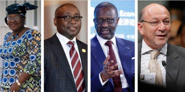 Ngozi Okondjo Iweala, Donald Kaberuka, Tidjane Thiam et le Sud-africain Trevor Manuel, les envoyés spéciaux de l'UA.