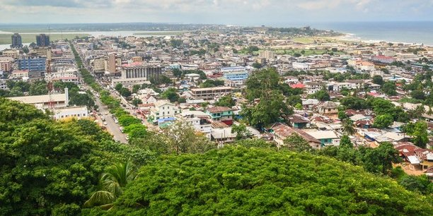 Monrovia, capitale du Liberia.