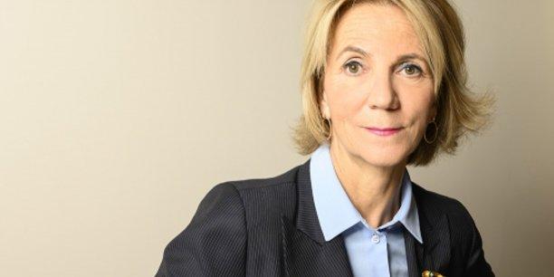 Florence Lustman, présidente de la Fédération française de l'assurance