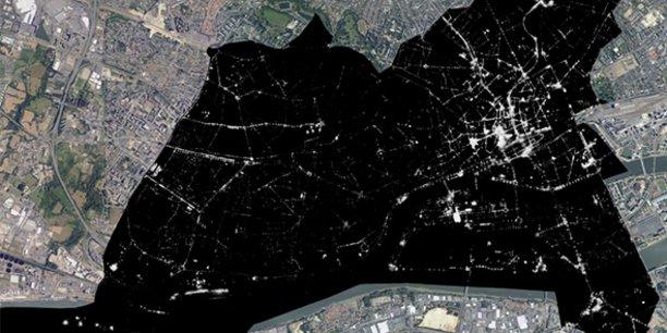 La Telescop a cartographié la ville de Nantes pour mesurer la pollution lumineuse urbaine de la métropole.