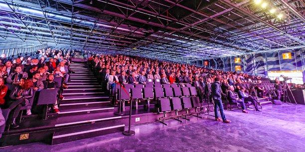 Le Parc des expositions de Bordeaux, l'un des cinq sites de Congrès et expositions de Bordeaux.