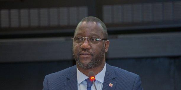 Daouda Coulibaly, directeur général de la Société Ivoirienne de Banque (SIB) et président de l'Association professionnelle des banques et établissements financiers de Côte d'Ivoire (APBEF-CI).