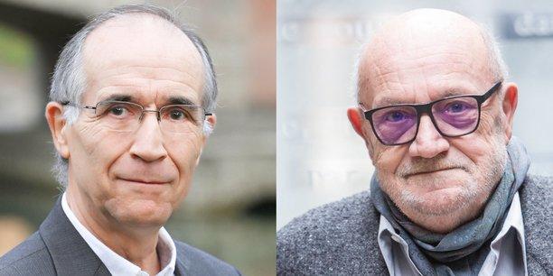 Claude Crampes et Michel Moraux.