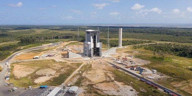 Le pas de tir d'Ariane 6 (ELA-4)