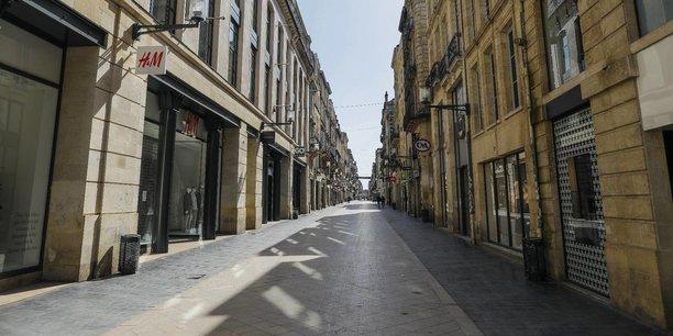 A partir du 11 mai, le port du masque devrait être obligatoire rue Sainte Catherine à Bordeaux comme dans les transports en commun, les parcs et les marchés.