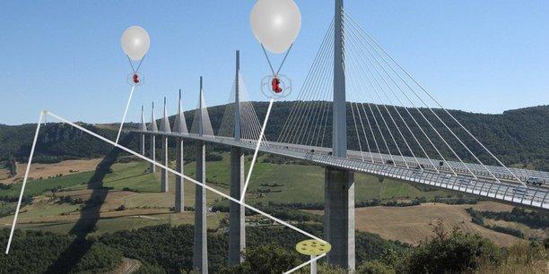 Grâce à des structures mobiles, la solution pourrait s'adapter à tous les sites touristiques.