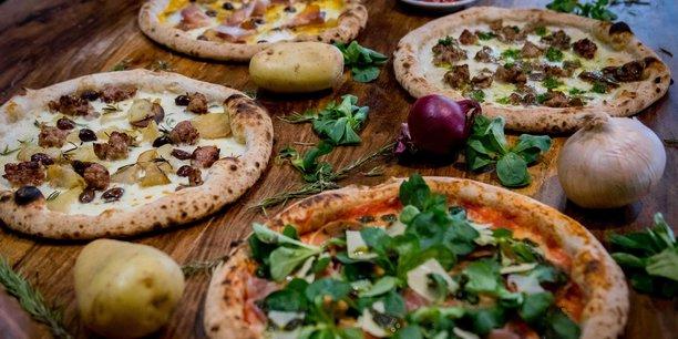 Les pizzas de Mongelli sont réalisées avec des produits issus de l'agriculture raisonnée, sans OGM, sans conservateurs et de saison.