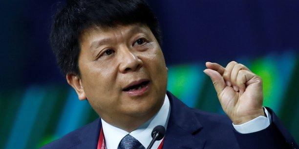 Guo Ping, l'actuel président en exercice de Huawei.