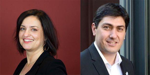 Laure Lenzotti et Clément Saad, directrice et président de la French Tech Méditerranée.