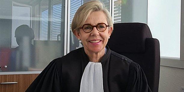 Nadine Baptiste est présidente du Tribunal de commerce de Montpellier depuis janvier 2020.
