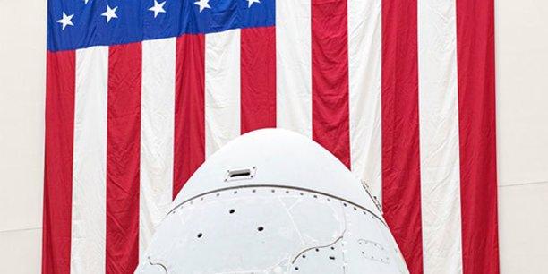 Ce sera la première mission habitée 100% américaine depuis l'arrêt des navettes spatiales en 2011 après 30 ans de service.