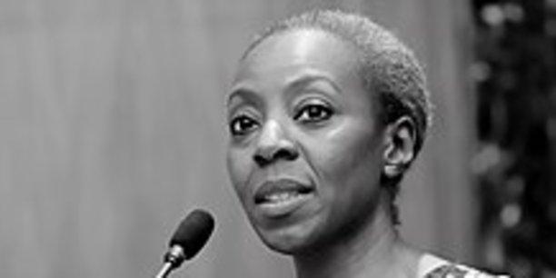 Malado Kaba, ancienne ministre de l'Economie et des finances de Guinée.
